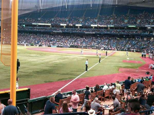 Tropicana Field, section: 137, row: U, seat: 1 and 2