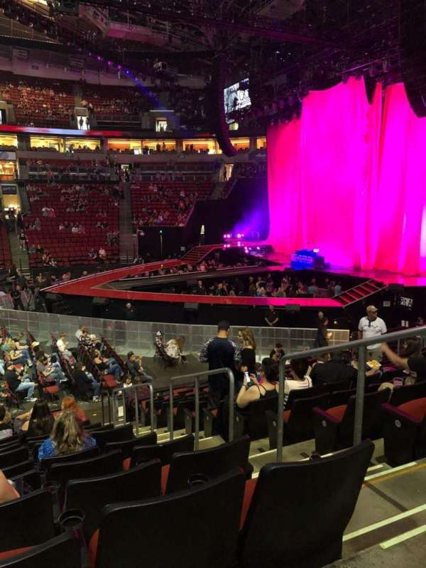 KeyArena, section: 114, row: 14, seat: 20