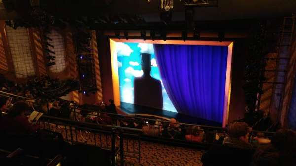 Lunt-Fontanne Theatre, section: Rear Mezzanine R, row: D, seat: 2