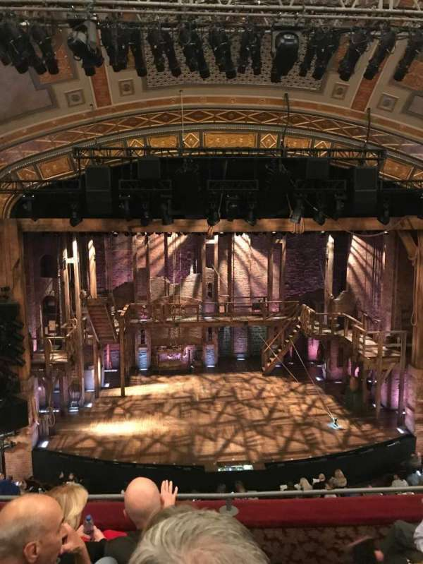 Richard Rodgers Theatre, section: Front Mezzanine C, row: D, seat: 111