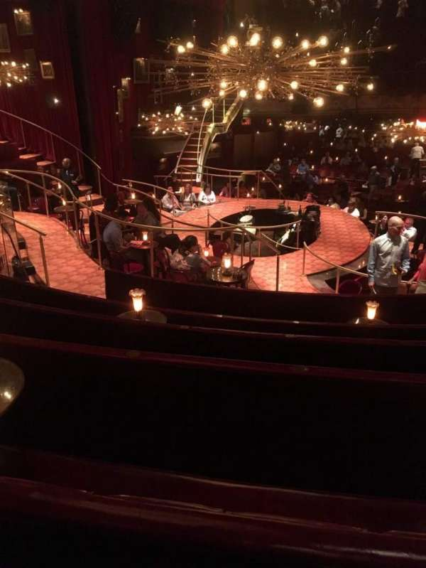 Imperial Theatre, section: Onstage Right Banquette, row: BF, seat: 1