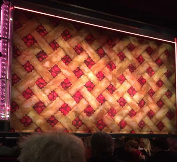 Adelphi Theatre, section: Stalls, row: H, seat: 18