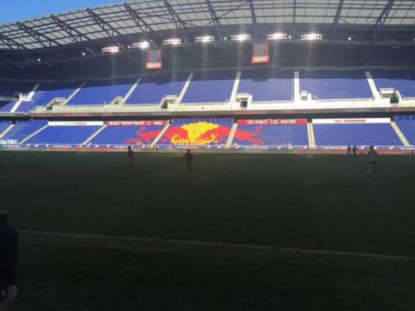 Red Bull Arena (New Jersey), section: 108, row: 1