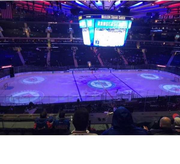 Madison Square Garden, section: 223, row: 7, seat: 7