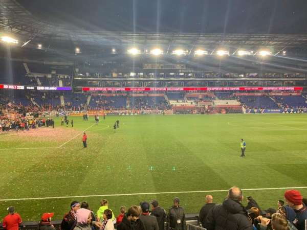 Red Bull Arena, section: 128, row: 9, seat: 1