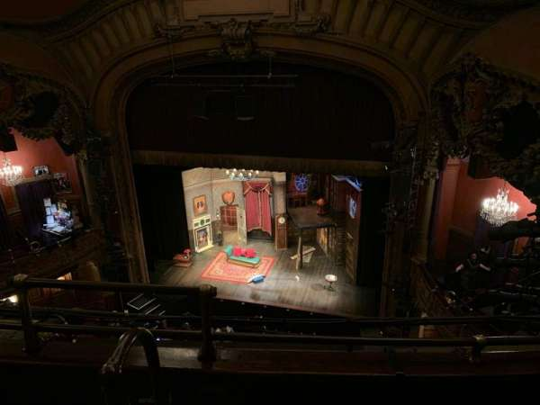 Lyceum Theatre (Broadway), section: Balcony R, row: C, seat: 4