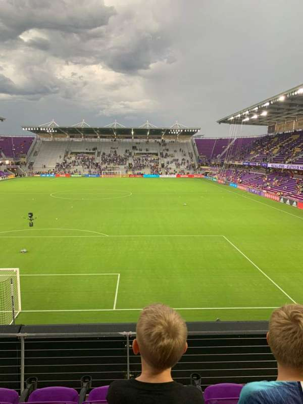 Exploria Stadium, section: 103, row: D, seat: 18