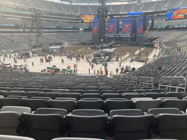 MetLife Stadium, section: 123, row: 35, seat: 1
