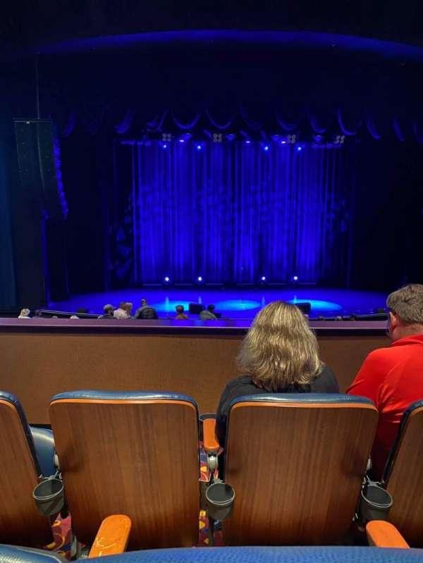 Harrah's Resort Atlantic City, section: Upper 1, row: C, seat: 717