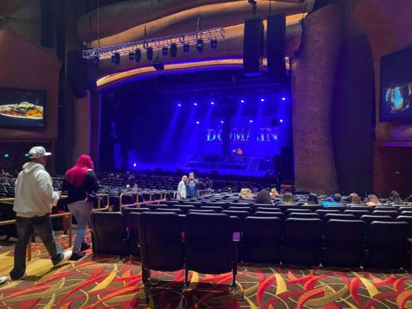 Premier Theater at Foxwoods, section: Par Right, row: Aa, seat: 2