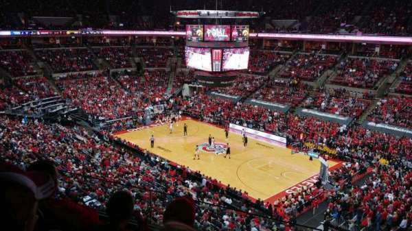 Value City Arena, section: 319, row: C, seat: 3