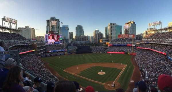 PETCO Park, section: 304, row: 6, seat: 9