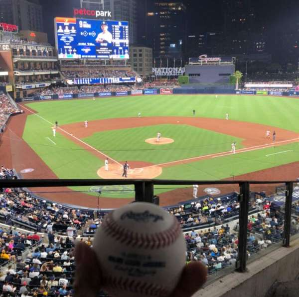 PETCO Park, section: 201, row: 8, seat: 1