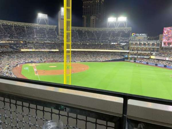 PETCO Park, section: 225, row: 1D, seat: 12