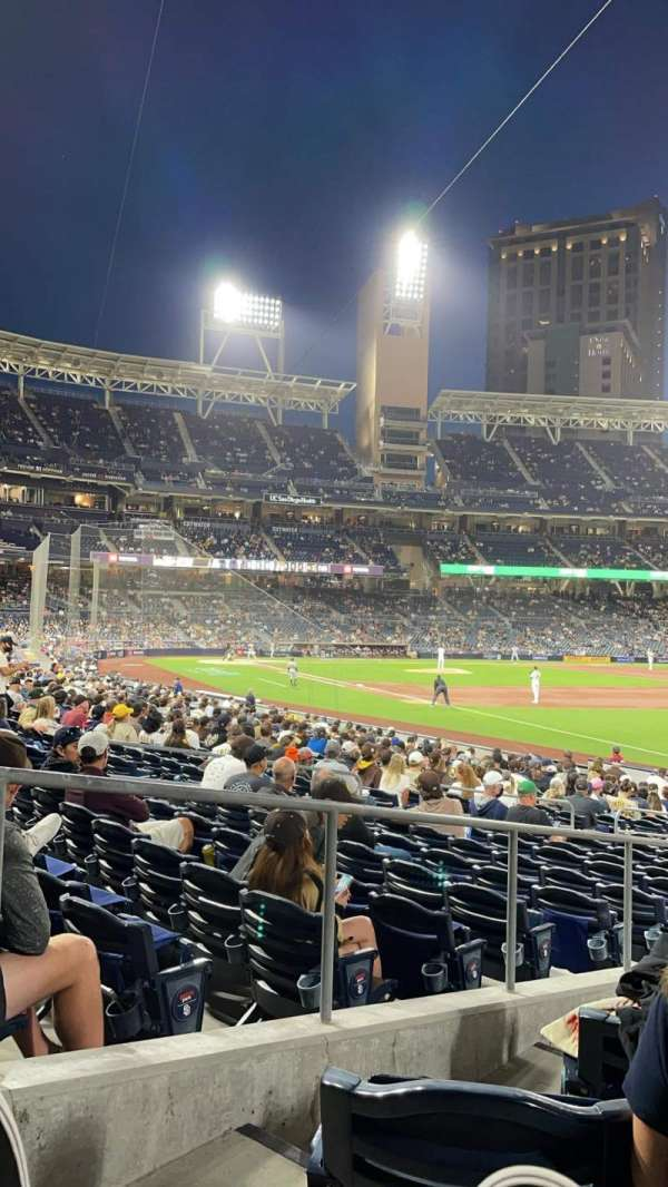 PETCO Park, section: 121, row: 25, seat: 1