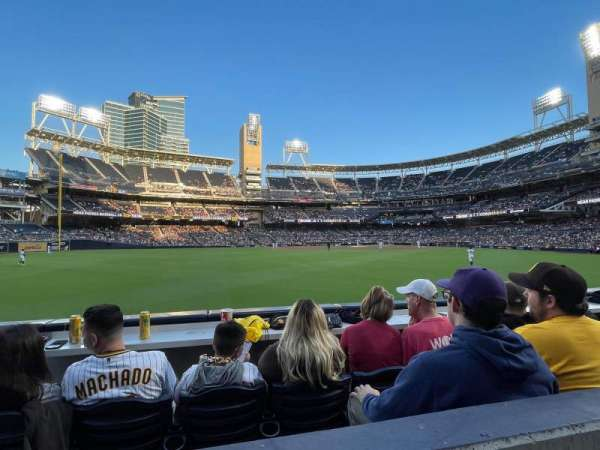 PETCO Park, section: 132, row: 1, seat: 22