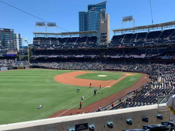 PETCO Park, section: 222, row: 4, seat: 6