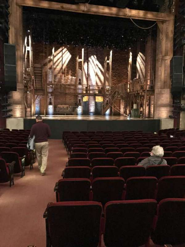 CIBC Theatre, section: Orchestra C, row: S, seat: 101