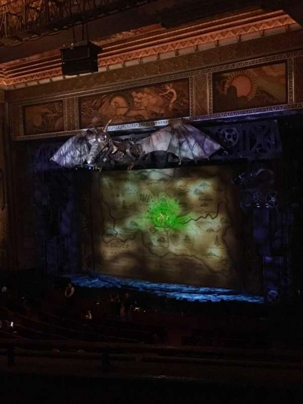 Hollywood Pantages Theatre, section: Mezzanine R, row: C, seat: 8