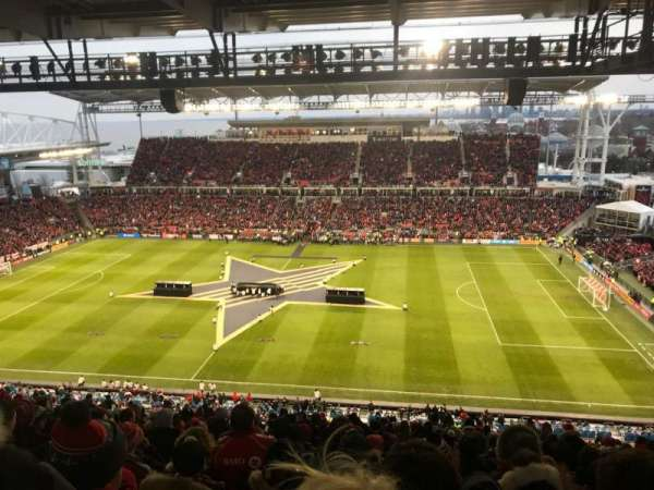 BMO Field, section: 206, row: 23, seat: 3