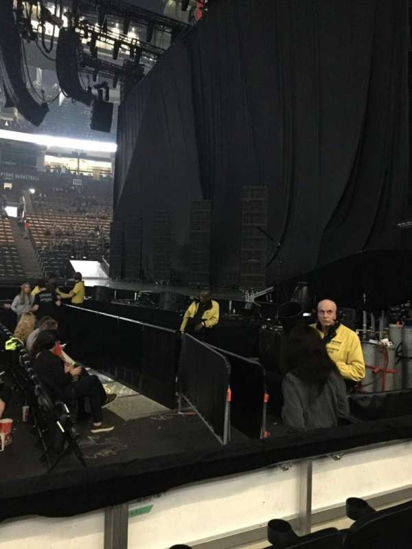 Scotiabank Arena, section: 118, row: 3, seat: 8