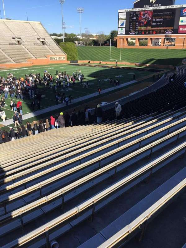 Truist Field at Wake Forest, section: 3, row: DD, seat: 24