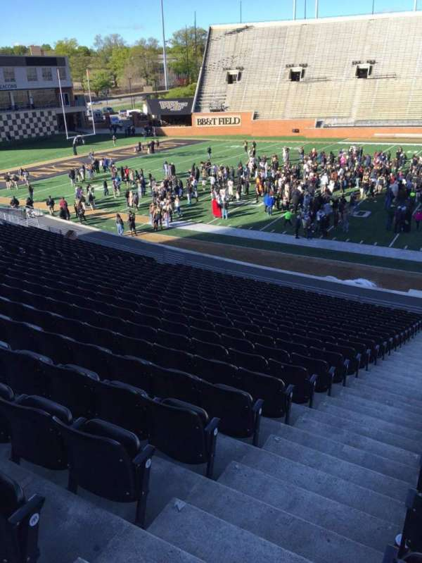 Truist Field at Wake Forest, section: 6, row: CC, seat: 23