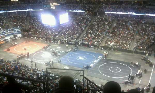 Pepsi Center, section: 374, row: 9, seat: 16