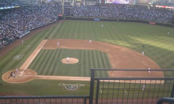 Coors Field, section: L325, row: 3, seat: 1