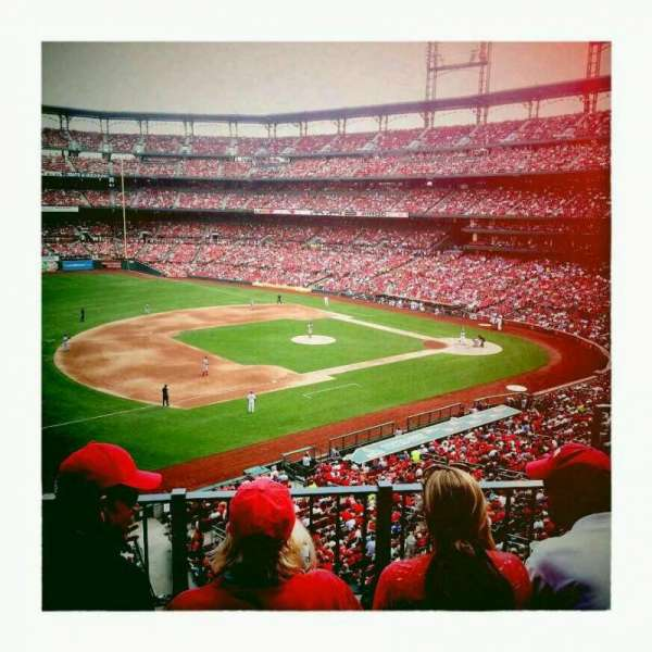 Busch Stadium, section: 261, row: 3, seat: 4