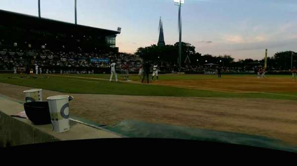 Baseball Grounds of Jacksonville, section: 115, row: 1, seat: 8