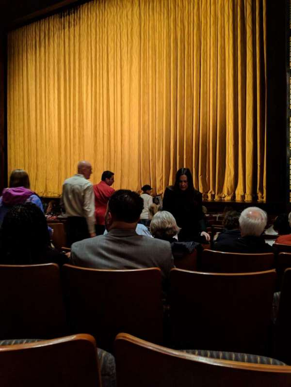 The Kennedy Center Eisenhower Theater, section: Orch, row: M, seat: 10