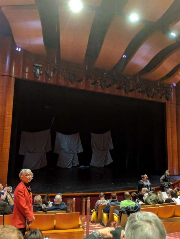 The Kennedy Center Terrace Theater, section: Orch, row: J, seat: 5