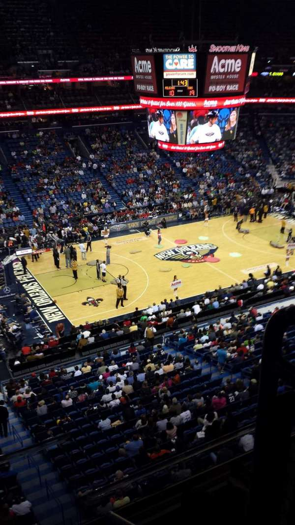 Smoothie King Center, section: 303, row: 2, seat: 2