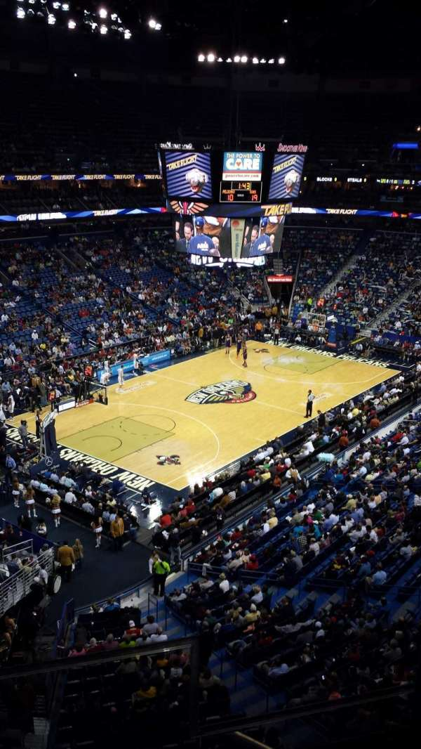 Smoothie King Center, section: 305, row: 2, seat: 2