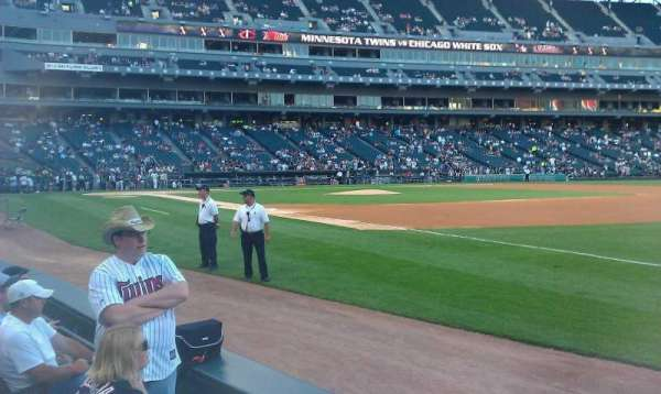 Guaranteed Rate Field, section: 118, row: 2, seat: 1-2