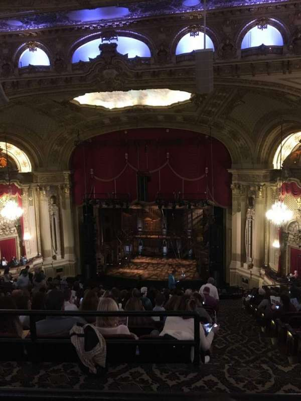 Citizens Bank Opera House, section: Ctr Balcony, row: Q, seat: 14