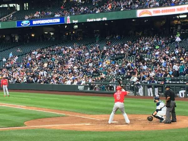 Safeco Field, section: 137, row: 10, seat: 7