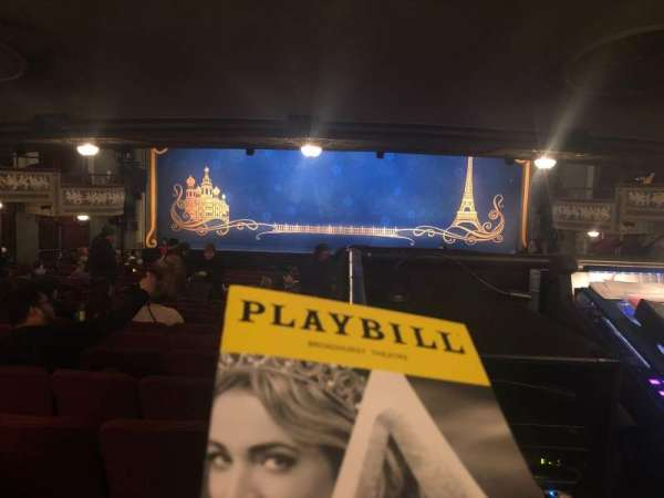 Broadhurst Theatre, section: Orchestra, row: Standing Room, seat: 108