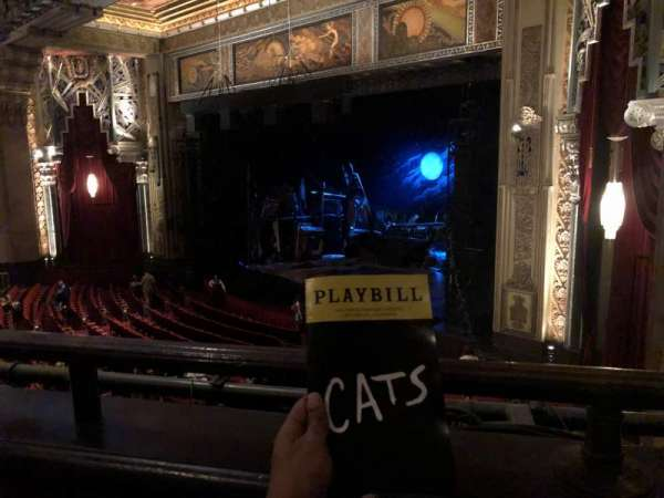 Hollywood Pantages Theatre, section: Mezzanine, row: A, seat: 24