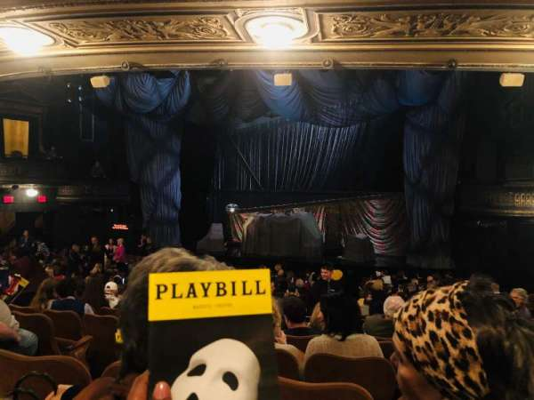 Majestic Theatre, section: Orchestra R, row: Q, seat: 8