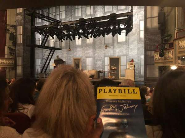 Broadhurst Theatre, section: Orchestra L, row: N, seat: 10