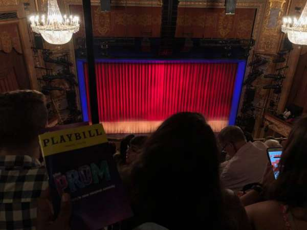 Longacre Theatre, section: Balcony C, row: E, seat: 111