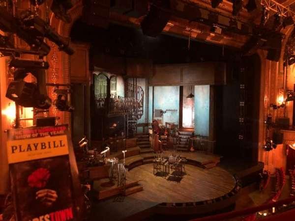 Walter Kerr Theatre, section: Mezzanine L, row: C, seat: 21