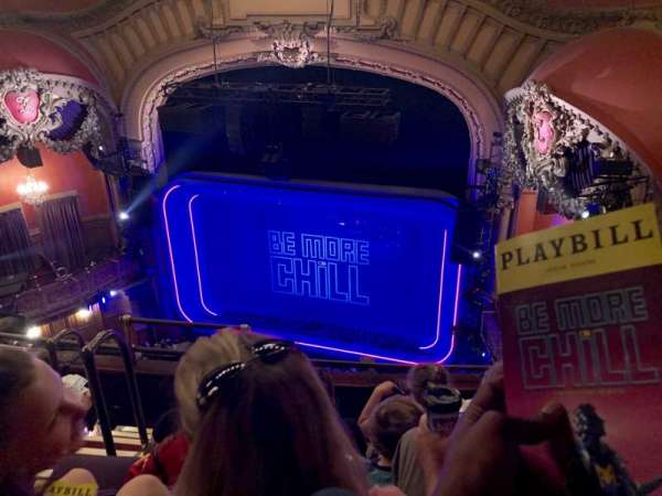 Lyceum Theatre (Broadway), section: Balcony R, row: E, seat: 8