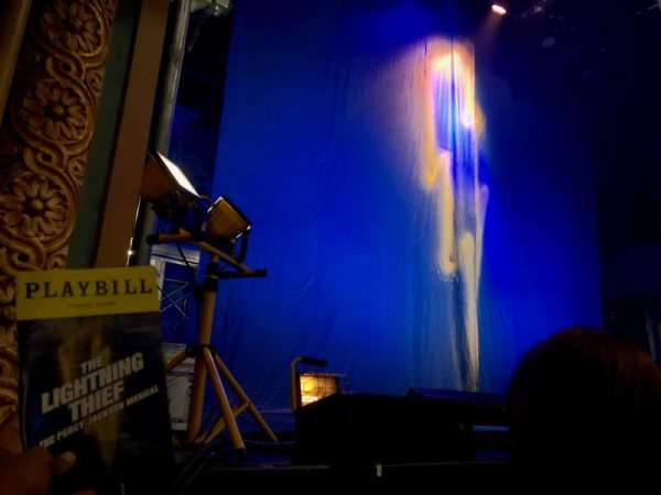 Longacre Theatre, section: Orchestra R, row: B , seat: 6