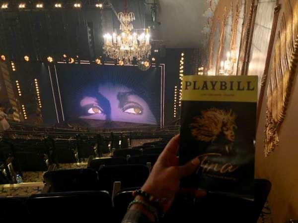 Lunt-Fontanne Theatre, section: Rear Mezzanine R, row: L, seat: 8