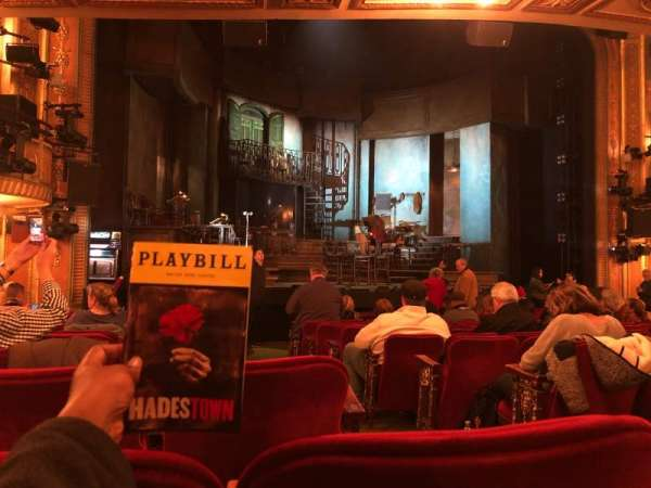Walter Kerr Theatre, section: Orchestra L, row: P, seat: 3