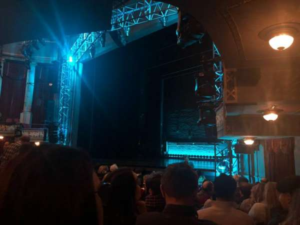 Broadhurst Theatre, section: Orchestra R, row: M, seat: 26