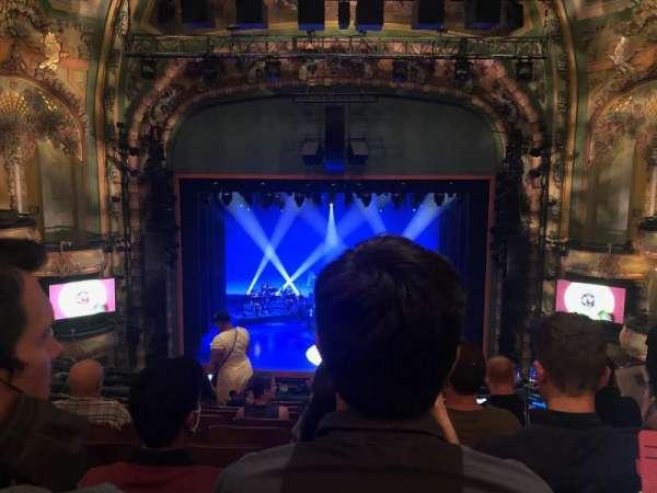 New Amsterdam Theatre, section: Mezzanine C, row: JJ, seat: 109